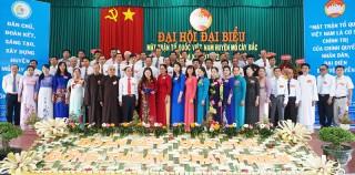 Mỏ Cày Bắc, Châu Thành tổ chức thành công Đại hội đại biểu MTTQ Việt Nam huyện