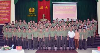 Họp mặt lực lượng Thanh tra công an các tỉnh đồng bằng sông Cửu Long