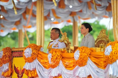 Nhà vua Thái Lan chủ trì phiên họp đầu tiên của Quốc hội mới
