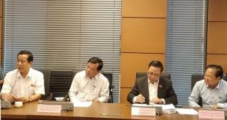 Đại biểu Quốc hội đơn vị tỉnh góp ý các dự án Luật