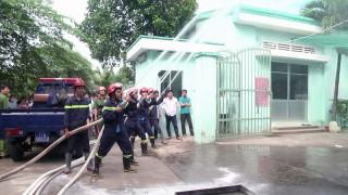 Thực tập phương án chữa cháy và cứu nạn, cứu hộ tại Công ty may Lông Vũ