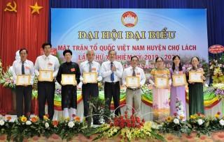 Ông Mai Thành Trung tái đắc cử chức Chủ tịch Ủy ban MTTQ Việt Nam huyện Chợ Lách
