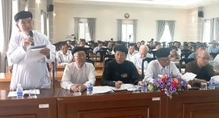 Ủy ban MTTQ tỉnh họp phiên bất thường