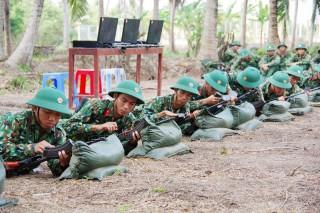 Trung đoàn Bộ binh khung thường trực 895: Hoàn thành xuất sắc nhiệm vụ huấn luyện chiến sĩ mới năm 2019