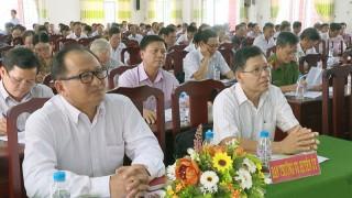 Thạnh Phú sơ kết 3 năm phân công cán bộ huyện theo dõi, hỗ trợ ấp, khu phố