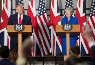 """Mỹ - Anh có thể đạt thỏa thuận thương mại """"phi thường"""" hậu Brexit"""