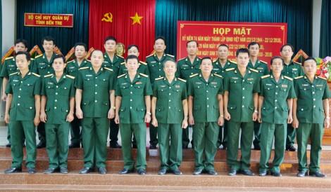 Trường Quân sự tỉnh nâng cao chất lượng đào tạo cán bộ quân sự