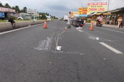 Tai nạn giao thông đường bộ làm 1 người tử vong tại chỗ