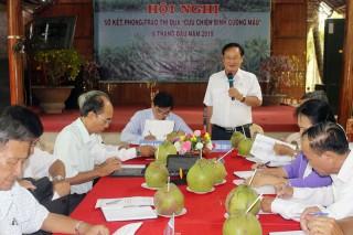 Hội Cựu chiến binh cụm thi đua 11 triển khai và ký kết giao ước thi đua