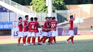 Vòng 10 Hạng Nhất Quốc gia 2019:  Phố Hiến FC đánh bại Huế FC  vươn lên đứng hạng 3