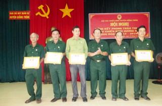 Khen thưởng 5 tập thể và 14 cá nhân cựu chiến binh gương mẫu