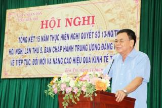 Kinh tế hợp tác sẽ trở thành trụ cột của kinh tế Bến Tre