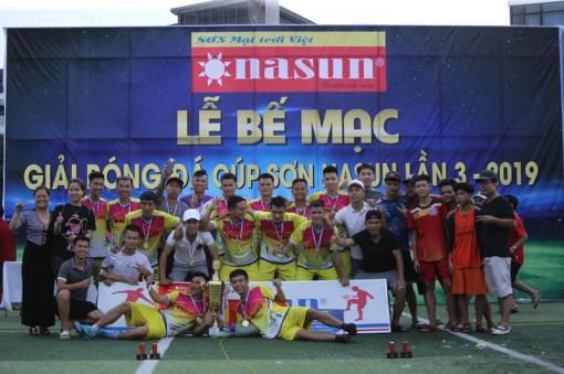 Bế mạc Nasun Cup 2019: Những trận chung kết đầy kịch tính
