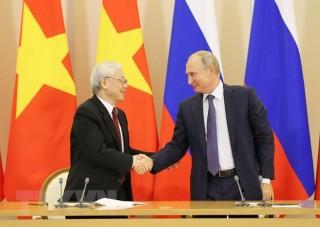 Kỷ niệm 25 năm ký kết Hiệp ước nguyên tắc cơ bản của quan hệ Việt - Nga