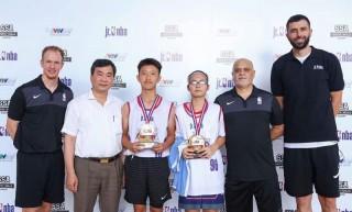 Phùng Trang Linh đã xuất sắc ghi tên vào top 10 cô bé xuất sắc nhất tại Jr.NBA