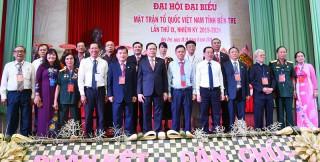 Khai mạc Đại hội đại biểu MTTQ Việt Nam tỉnh khóa IX, nhiệm kỳ 2019 - 2024