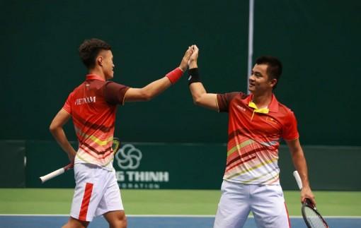 Đội tuyển tennis nam Việt Nam sẵn sàng cho giải đấu tại Singapore