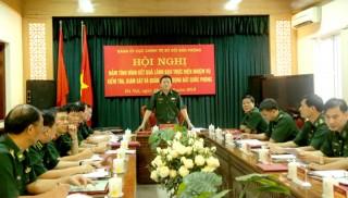 UBKT Quân ủy Trung ương kiểm tra Đảng ủy Bộ đội Biên phòng