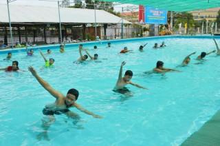 Sơ kết công tác phổ cập bơi 6 tháng đầu năm 2019