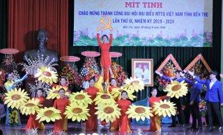 Mít-tinh chào mừng thành công Đại hội đại biểu MTTQ Việt Nam tỉnh nhiệm kỳ 2019 - 2024