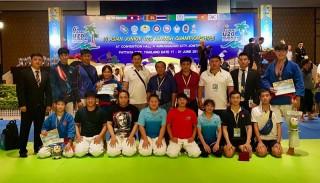 Việt Nam đoạt 2 HCV tại Giải vô địch Kurash trẻ châu Á