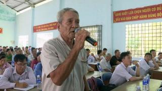 Đại biểu Quốc hội đơn vị tỉnh tiếp xúc cử tri tại Thạnh Phú