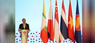 Họp báo quốc tế thông báo kết quả Hội nghị cấp cao ASEAN lần thứ 34