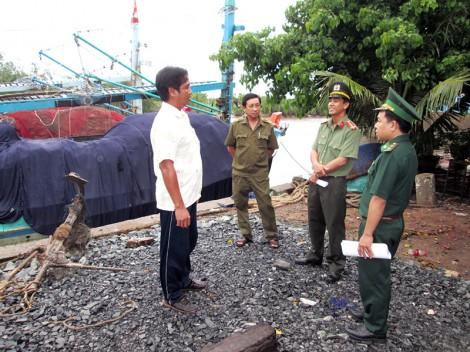 Tuyên truyền ngư dân không vi phạm vùng đánh bắt thủy hải sản nước ngoài