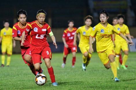Giải nữ vô địch quốc gia - cúp Thái Sơn Bắc 2019:  TP. Hồ Chí Minh I và II đều giành chiến thắng 2-1