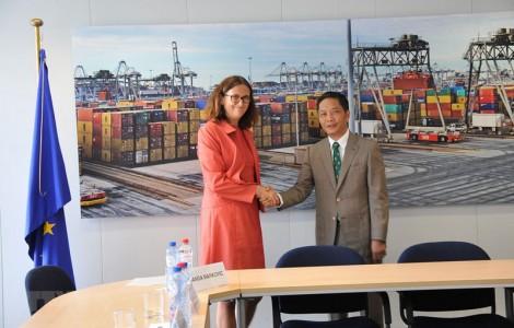 Liên minh châu Âu và Việt Nam sẽ ký FTA vào ngày 30-6 tại Hà Nội