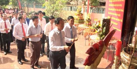 Lễ giỗ lần thứ 109 cụ Phan Văn Trị