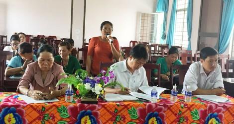 Bình Đại tọa đàm giải pháp tăng tỷ lệ tập hợp hội viên phụ nữ