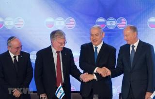 Cố vấn an ninh Mỹ-Israel-Nga họp tại Jerusalem bàn về Trung Đông
