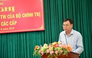 Hội nghị quán triệt Chỉ thị số 35 của Bộ Chính trị về Đại hội Đảng bộ các cấp
