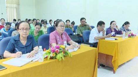 Hội Liên hiệp Phụ nữ huyện Thạnh Phú sơ kết công tác 6 tháng đầu năm 2019