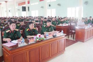 Bộ Chỉ huy Quân sự 12 tỉnh, thành phố sơ kết công tác thi đua khen thưởng 6 tháng đầu năm 2019