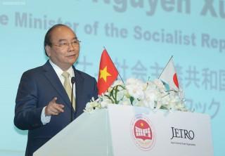 Thủ tướng mời gọi các nhà đầu tư Nhật Bản 'mở hàng' EVFTA