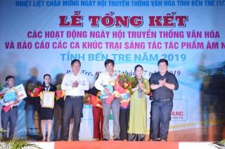Ngày truyền thống Văn hóa tỉnh 1-7 thu hút gần 10 ngàn lượt người tham quan