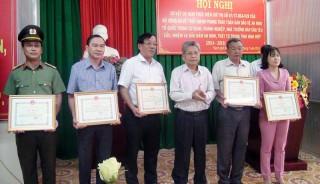 TP. Bến Tre sơ kết 5 năm thực hiện Chỉ thị số 07 của Bộ Công an