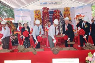 Khởi công dự án Nhà máy nước sạch Darco Ba Lai