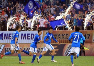 Vòng 14 V-League 2019:  Sài Gòn FC cầm hòa Than Quảng Ninh 2-2