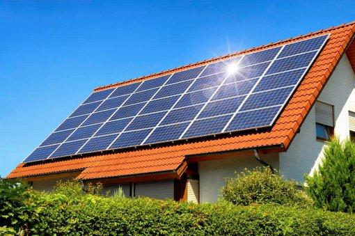 Khuyến khích phát triển điện mặt trời trên mái nhà