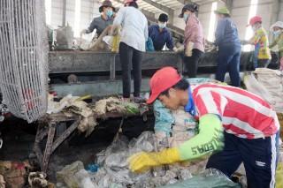 Đẩy nhanh tiến độ thi công Nhà máy xử lý rác Bến Tre