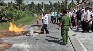 Tập huấn công tác phòng cháy, chữa cháy năm 2019