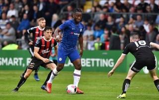 Giao hữu Quốc tế:  Chelsea bị Bohemian cầm hòa 1-1