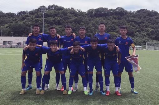 Đội tuyển U15 Việt Nam thua Trẻ Vissel Kobe 0-5