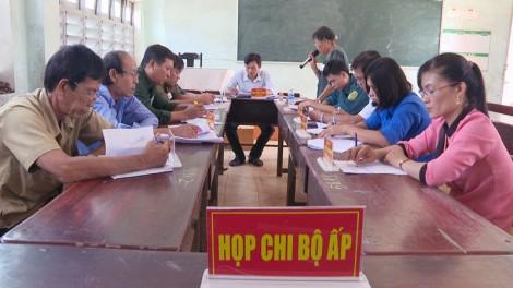 Xã Tân Phong diễn tập vận hành cơ chế có một phần thực binh