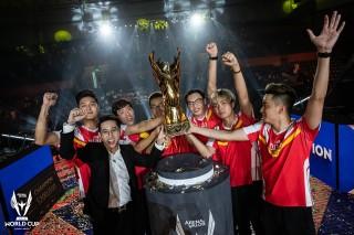 Việt Nam lên ngôi vô địch AWC 2019