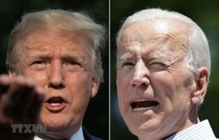 Ứng cử viên Joe Biden tiếp tục vượt Tổng thống Donald Trump