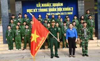 Xuất quân học kỳ trong quân đội khóa 2 năm 2019